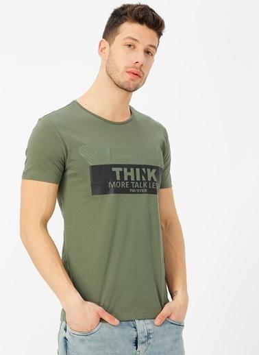 Twister Tişört Haki